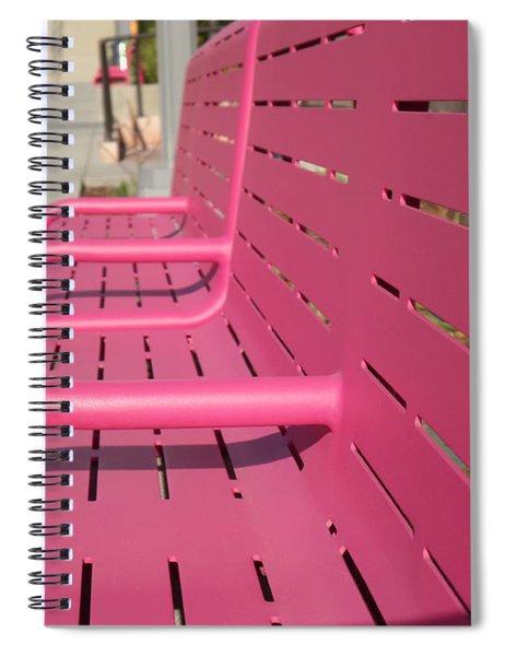 Grand Park Pink Spiral Notebook