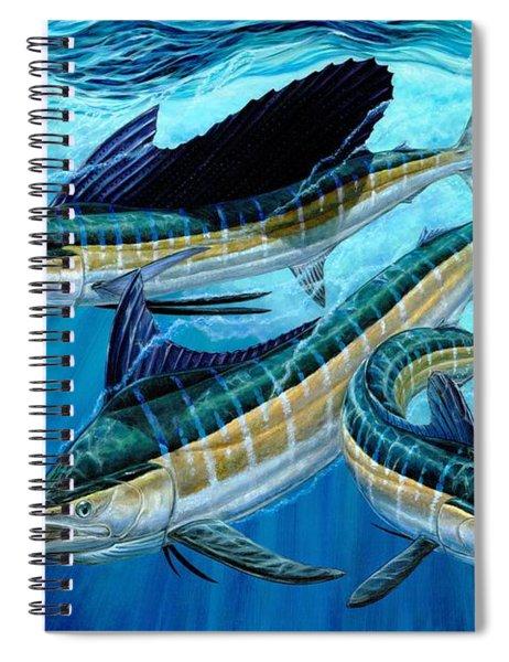 Grand Slam And Foam Spiral Notebook