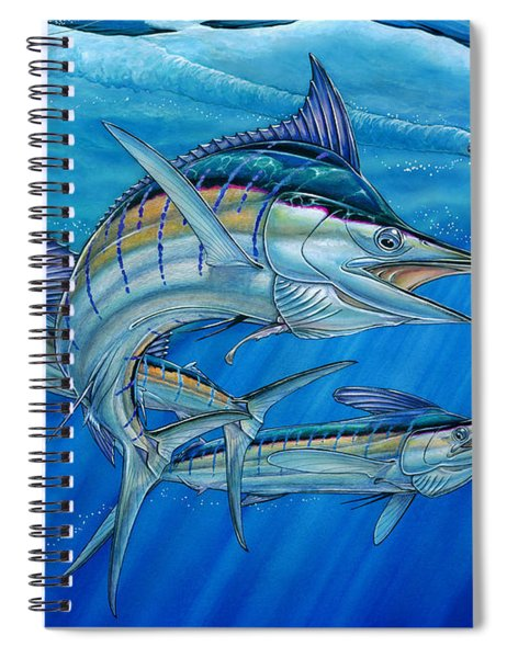 Grand Slam And Lure. Spiral Notebook