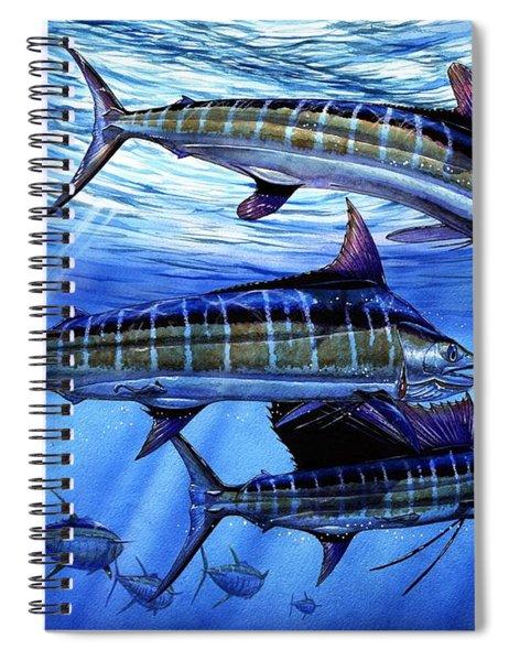 Grand Slam Lure And Tuna Spiral Notebook