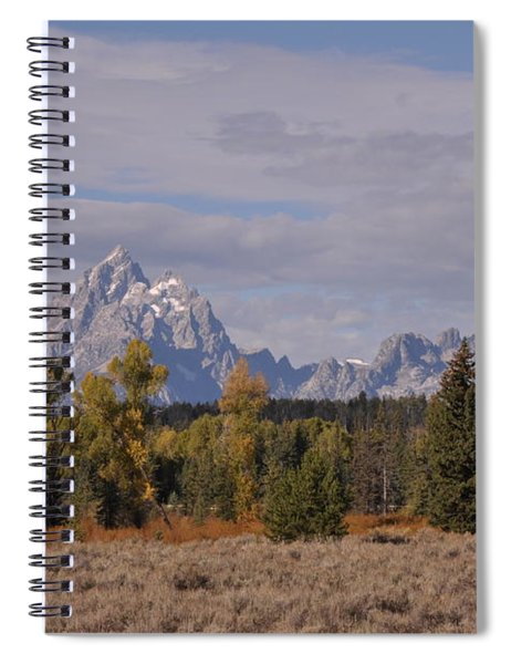Grand Teton Spiral Notebook