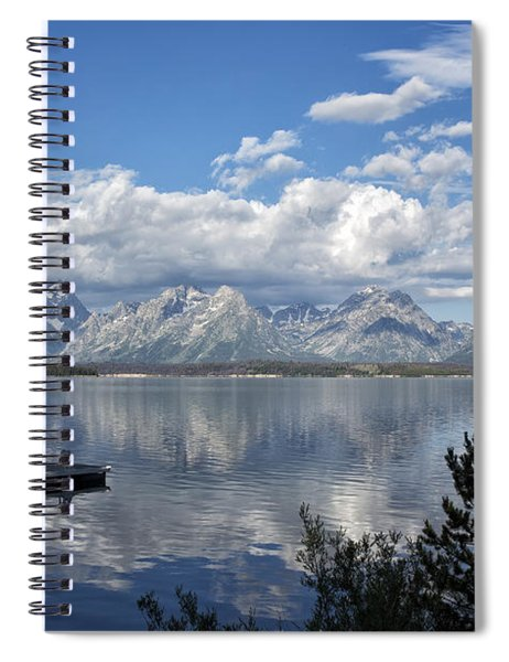 Grand Tetons In The Morning Light Spiral Notebook