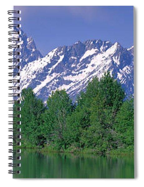 Grand Tetons National Park Wy Spiral Notebook