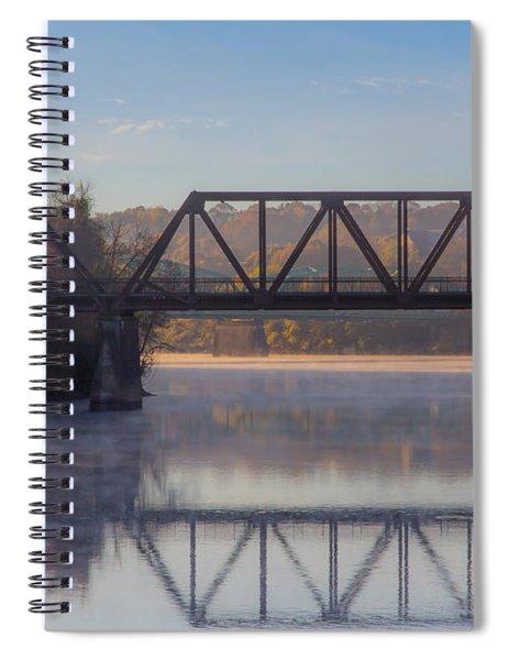 Grand Trunk Railroad Bridge Spiral Notebook