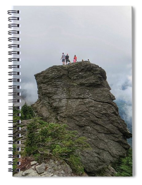 Grandfather Mountain Hikers Spiral Notebook