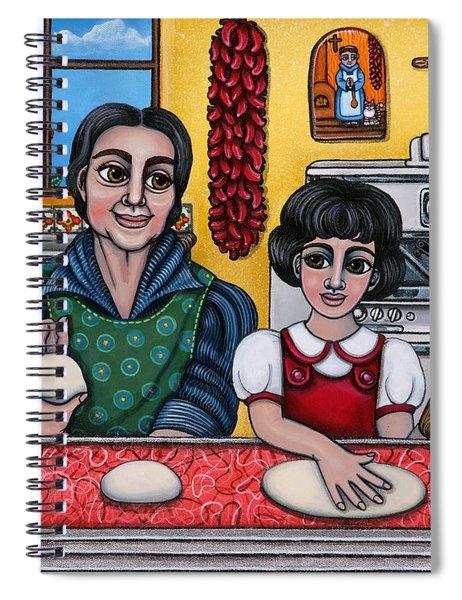 Grandma Kate Spiral Notebook