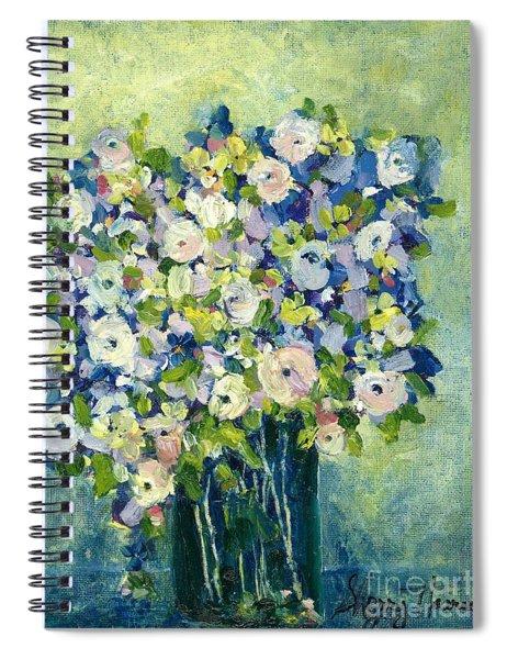 Grandma's Flowers Spiral Notebook