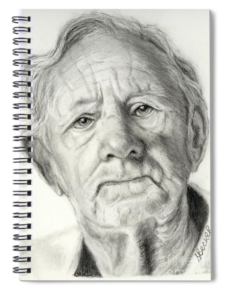 Grandpa Full Of Grace Drawing Spiral Notebook