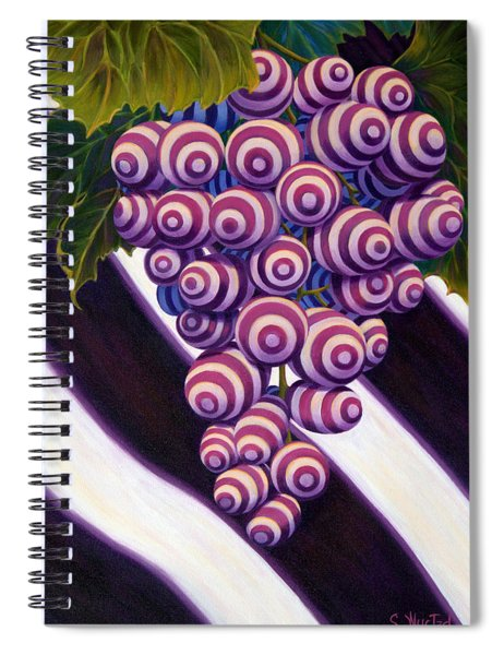 Grape De Menthe Spiral Notebook