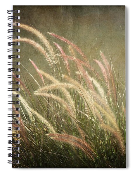 Grasses In Beauty Spiral Notebook