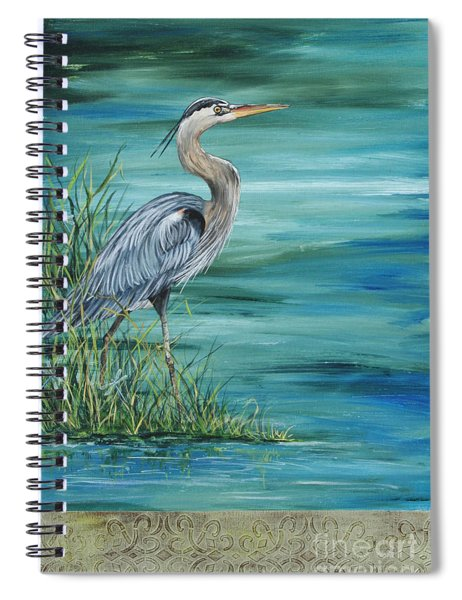 Great Blue Heron  2 Spiral Notebook