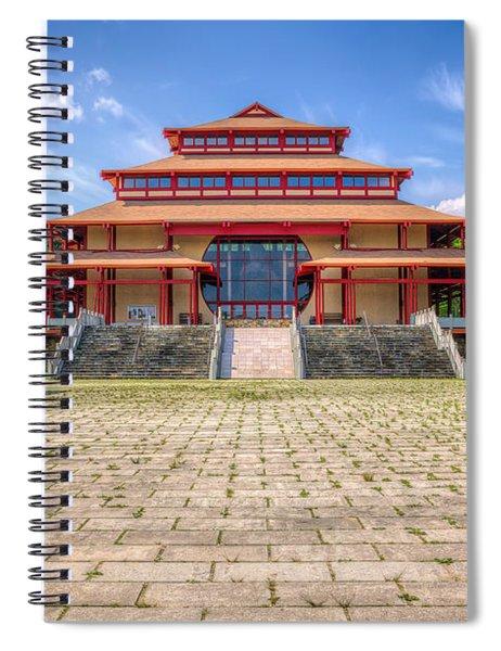 Great Buddha Hall Spiral Notebook