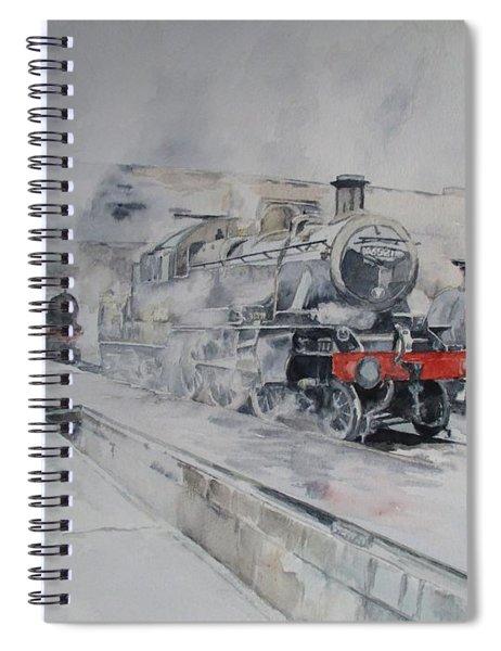 Great Central Steam Spiral Notebook