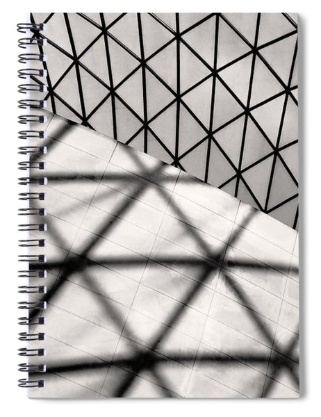Great Court Abstract Spiral Notebook