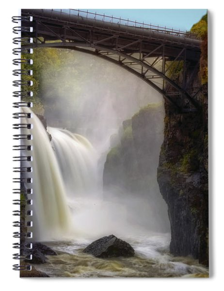 Great Falls Mist Spiral Notebook