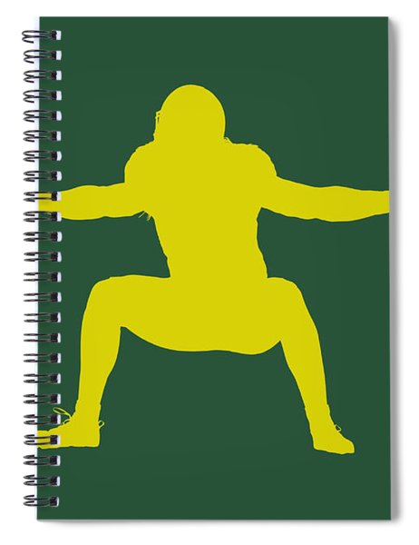 Green Bay Packers Clay Matthews Spiral Notebook