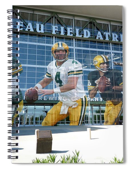 Green Bay Packers Lambeau Field Spiral Notebook