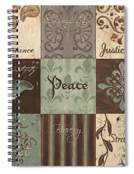 Green Brown Wtlb 2 Spiral Notebook