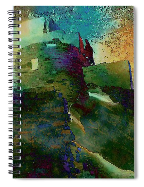 Green Castle Spiral Notebook