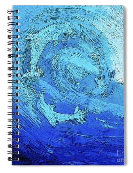 Green Dolphin Street Spiral Notebook
