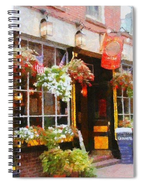 Green Dragon Tavern Spiral Notebook
