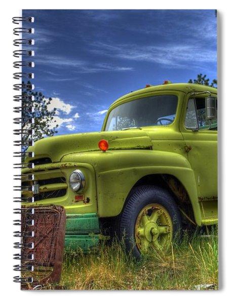 Green International Spiral Notebook