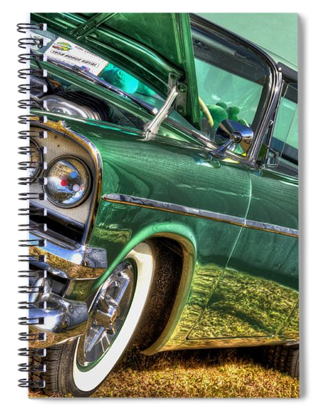 Green Machine Spiral Notebook
