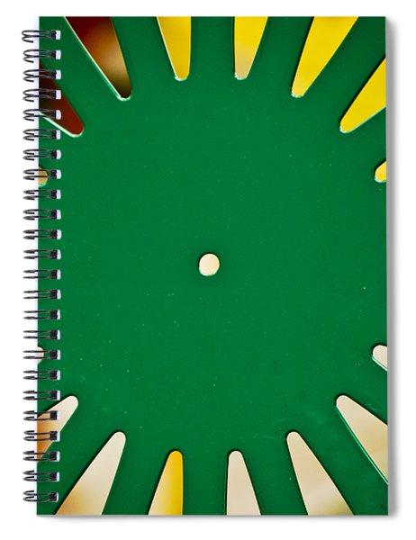 Green Memorial Union Chair Spiral Notebook