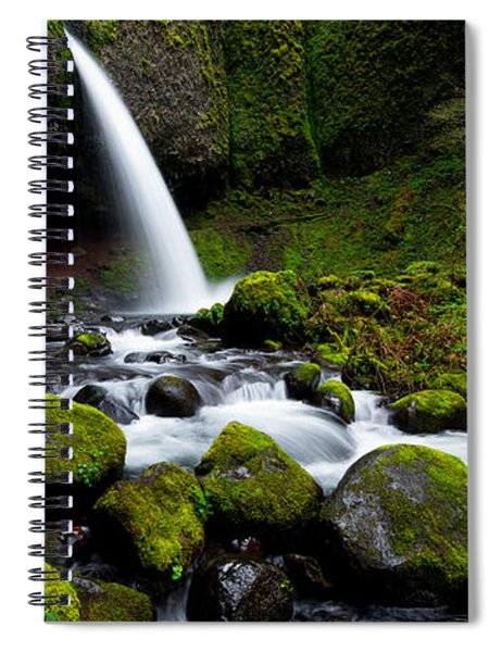 Green Mile Spiral Notebook