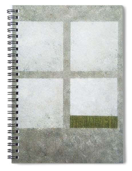 Green Painting 1 Spiral Notebook