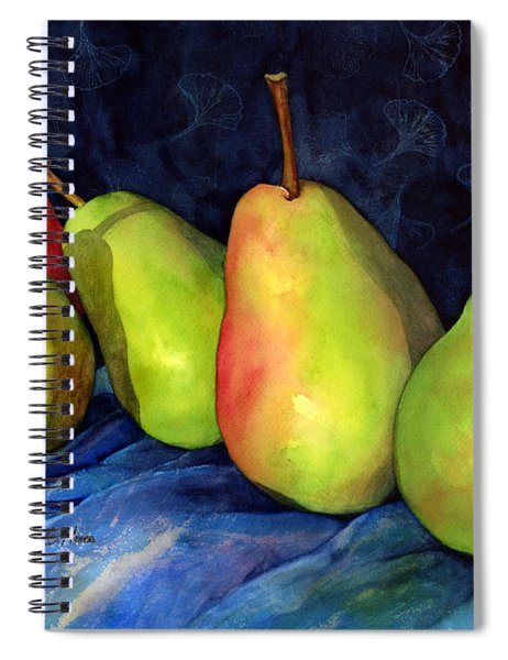 Green Pears Spiral Notebook