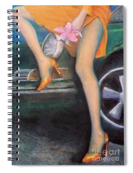Green Porsche Spiral Notebook