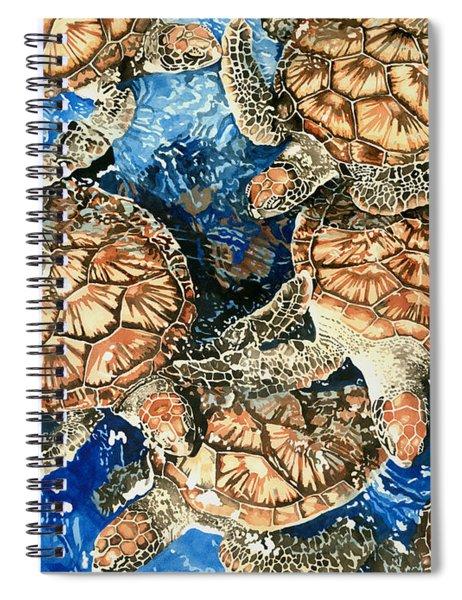 Green Sea Turtles Spiral Notebook