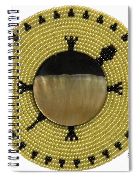 Green Shell Spiral Notebook