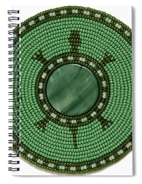 Green Shell Turtle Spiral Notebook