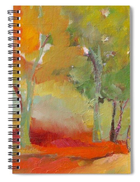Green Trees Spiral Notebook
