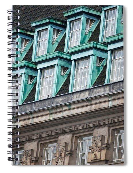 Green Windows Spiral Notebook