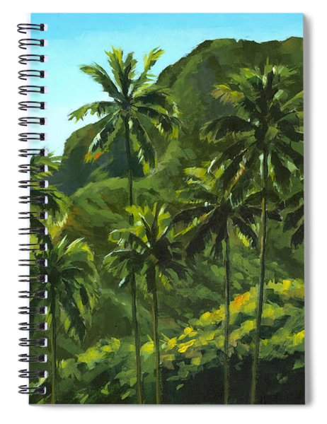 Greens Of Kahana Spiral Notebook