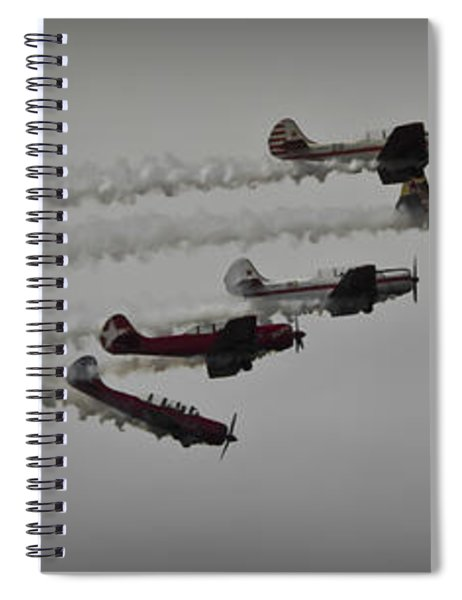 Greenwood Lake Airshow Northeast Raiders Spiral Notebook