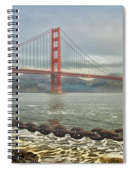 Greetings From San Franciosco Spiral Notebook