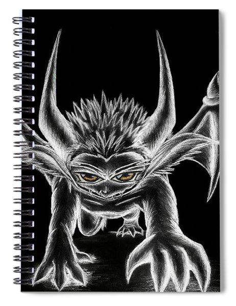 Grevil Chalk Spiral Notebook