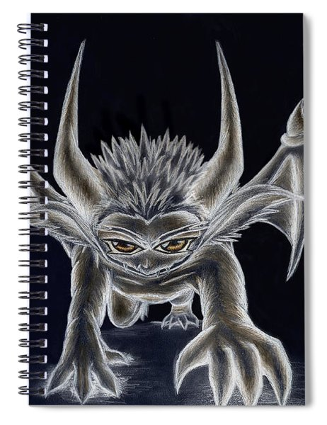 Grevil Inverted Spiral Notebook