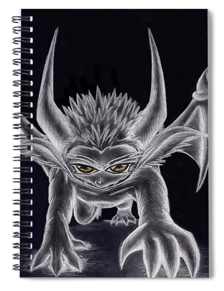 Grevil Silvered Spiral Notebook