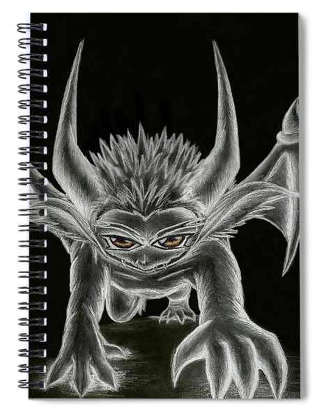 Grevil Statue Spiral Notebook
