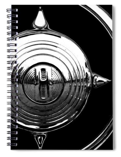 Grill Bullet 1949 Ford Custom V-8 Spiral Notebook
