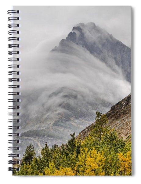 Grinnell Cloud Wrap Spiral Notebook