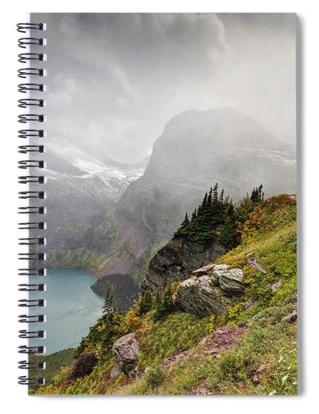 Grinnell Glacier Trail Spiral Notebook