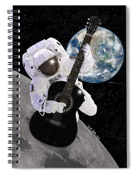 Ground Control To Major Tom Spiral Notebook