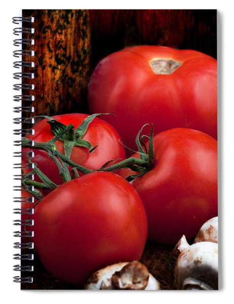 Group Of Vegetables Spiral Notebook