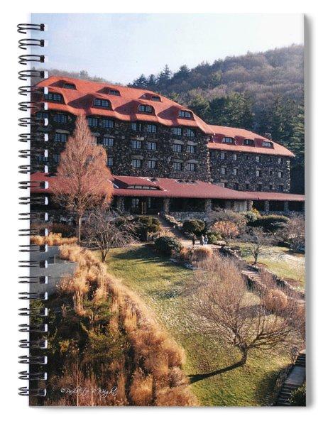 Grove Park Inn In Early Winter Spiral Notebook